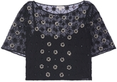 Temperley London Crossbone Embellished Top