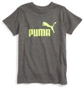 Puma Boy's Logo Graphic T-Shirt