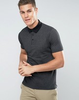 Mango Man Polo Shirt In Black