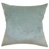 Haye Solid Silk Throw Pillow Cover The Pillow Collection