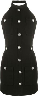 Balmain Short Button-Up Dress