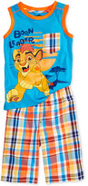 Nannette 2-Pc. Lion King Tank and Shorts Set, Toddler and Little Boys (2T-7)