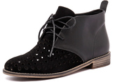 Mollini Quagin Black Suede/Black Leather