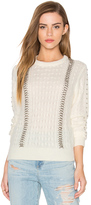Endless Rose Long Sleeve Beaded Detail Sweater