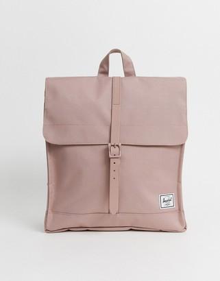 Herschel City backpack in Ash Rose