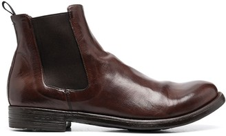 Officine Creative Elasticated Panel Slip-On Boots