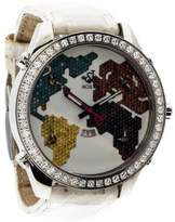 Jacob & co Five Time Zone Diamond Watch