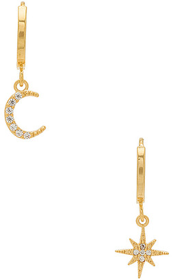 Five and Two jewelry Chloe Celestial Hoops