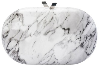 Olga Berg OB4736 Quartz Hardcase Clutch Bag