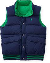 Ralph Lauren Reversible Quilted Down Vest