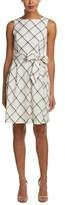Anne Klein Linen-blend A-line Dress.