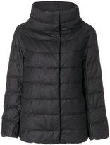 Herno puffer coat - women - Polyamide/Polyester/Spandex/Elastane/Virgin Wool - 42