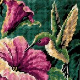 Dimensions Mini Needlepoint: Hummingbird Drama