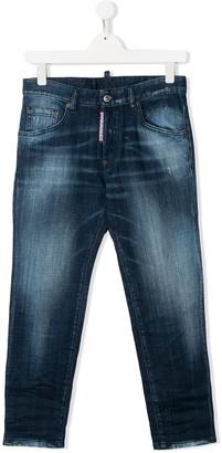 DSQUARED2 Acid Wash Jeans