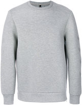 Neil Barrett arrow sleeve sweatshirt - men - Cotton/Polyurethane/Spandex/Elastane/Viscose - S