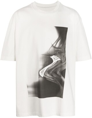 Maison Margiela illusion print T-shirt