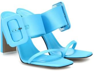 ATTICO Naomi satin sandals