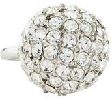 Kenneth Jay Lane Crystal Ball Ring
