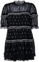 Etoile Isabel Marant Lyin embroidered mini dress