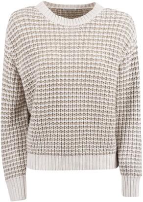 Brunello Cucinelli Patterned Crewneck Sweater