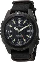 Momentum Men's 1M-DV68B7B Night Vision Analog Display Japanese Quartz Watch