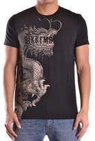 Dirk Bikkembergs Men's Black Cotton T-shirt.