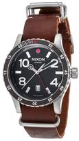 Nixon Diplomat Black Dial Watch, 45mm