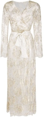 Gilda & Pearl sheer Reverie dressing gown