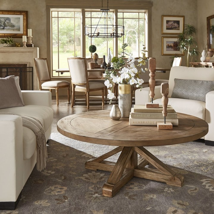Round Wood Coffee Table Shop The World S Largest Collection Of Fashion Shopstyle
