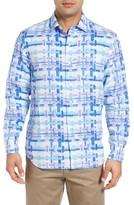 Tommy Bahama Men's Big & Tall Shoreline Breezer Linen Sport Shirt