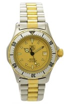 Tag Heuer 2000 Professional 200 974.008 Stainless Steel & Gold Plated Quartz 27mm Women