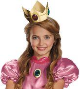 Kids Super Mario Brothers Princess Peach Crown & Amulet Set