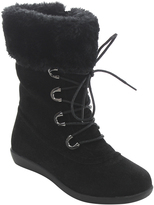 Jelly Beans Black Faux Fur Misty Boot