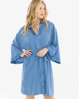 Soma Intimates Chiffon Short Robe Riviera