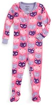 Hatley Infant Girl's Organic Cotton Fitted One-Piece Pajamas
