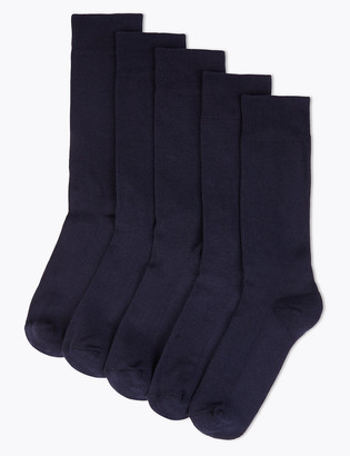Marks and Spencer 5 Pack Cool & Fresh Cushioned Socks