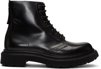Études Black Adieu Edition Type 29 Lace-Up Boots