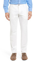 HUGO BOSS Stanino Slim Fit Flat Front Solid Stretch Cotton Trousers
