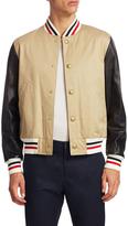 Moncler Stripe Trimmed Jacket