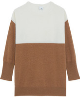 Iris and Ink Eve Two-Tone Cashmere Sweater