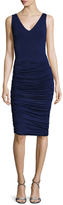 Bailey 44 Ruched Skirt Cut Out Sheath Dress