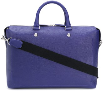 Mulberry City Heavy Grain briefcase