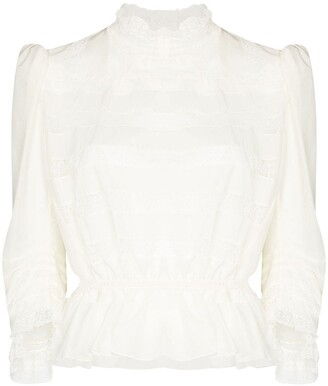 Marc Jacobs Victoriana lace blouse