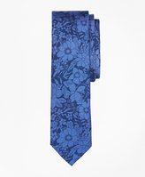 Brooks Brothers Floral Silk Tie