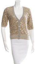 Dries Van Noten Sequin-Embellished Cardigan