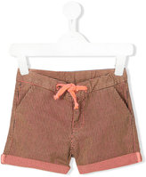 Knot 'Earth' striped shorts