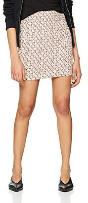 New Look Women's Textured Jacquard Skirt,(Manufacturer Size:)