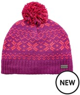 Regatta Girls Snowflake Hat