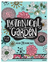 Horizon Adult Coloring Book - Botanical Garden