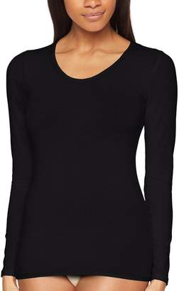 Playtex Women's Shirt Black Medium (Manufacturer Size:Medium)